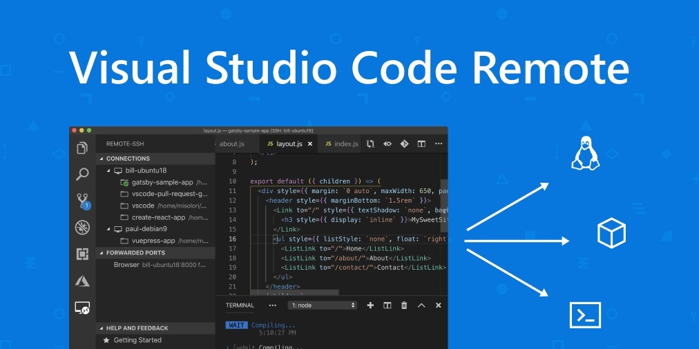 VS Code Remote Development 插件